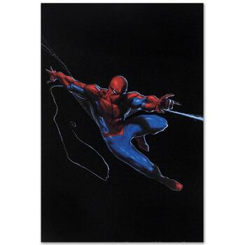 """Marvel Comics """"Secret War #1"""" Numbered Limited Edition Canvas by Gabriele Dell'Otto; Includes COA."""