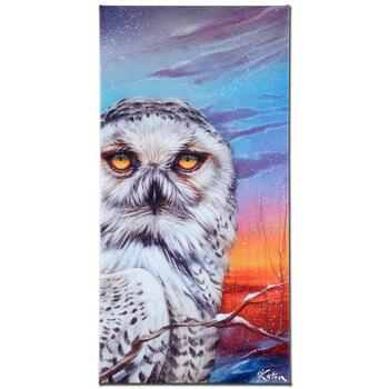 """Martin Katon, """"Visitor From the Arctic"""" Ltd Ed Giclee on Gallery Wrapped Canvas, Numbered and Hand Signed."""