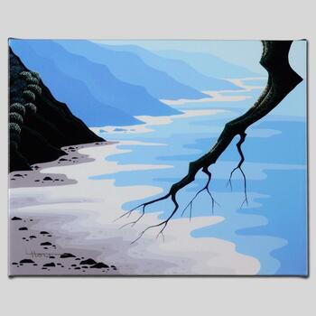 """Larissa Holt, """"Coast Ecstasy"""" Ltd Ed Giclee on Gallery Wrapped Canvas, Numbered and Signed."""