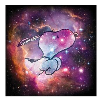 """Peanuts, """"Reach for the Stars"""" Hand Numbered Limited Edition Fine Art Print with Certificate of Authenticity."""