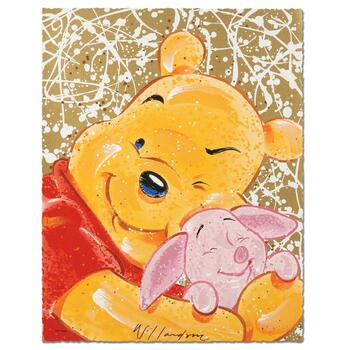 """David Willardson, """"Very Important Piglet"""" Limited Edition Serigraph, Numbered and Hand Signed with Certificate."""