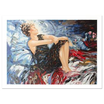 """Sergey Ignatenko, """"Sleeping Beauty"""" Hand Signed Limited Edition Serigraph with Letter of Authenticity."""