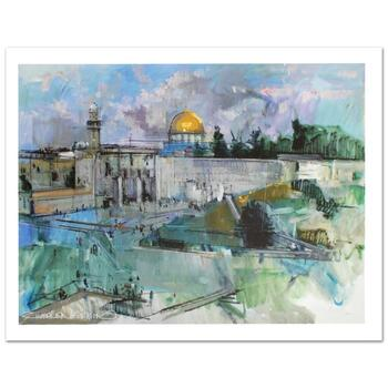 """Zwarenstein, """"Jerusalem"""" Ltd Ed Giclee on Canvas (40"""" x 30""""), Numbered and Hand Signed with Certificate."""