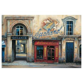 """Alexander Borewko, """"Galerie"""" Hand Signed Limited Edition Giclee on Canvas with Letter of Authenticity."""