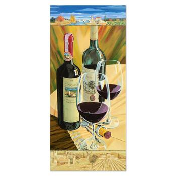 """Dima Gorban, """"Celebration"""" Limited Edition Serigraph, Numbered and Hand Signed with Certificate of Authenticity."""