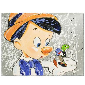 """David Willardson, """"Boy Oh Boy Oh Boy"""" Limited Edition Serigraph, Numbered and Hand Signed with Certificate."""