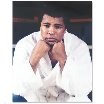 Muhammad Ali. Licensed Photograph of the Heavyweight Champ.