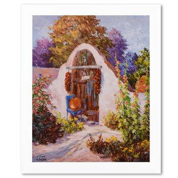 Carolyn Lankford, Limited Edition Lithograph, Numbered and Hand Signed with Letter of Authenticity.