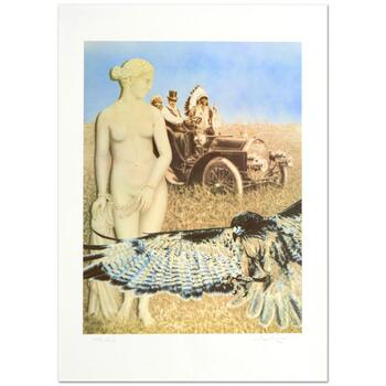 """Robert Anderson, """"Hopelessly Watching"""" Ltd Ed Lithograph, Numbered and Hand Signed with Certificate."""