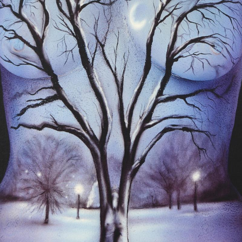 Craig Tracy Quot Winter Quot Framed Limited Edition Numbered 385