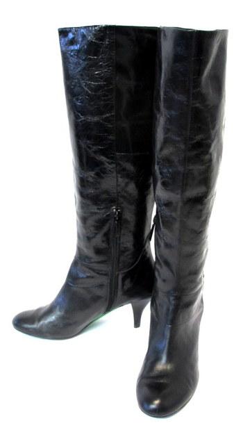 Women's Nine West Leather Boots Sz 7 M