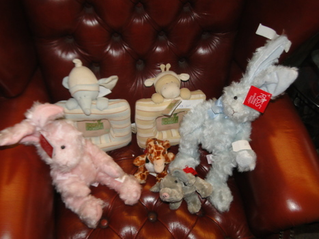 One Box of New Plush Toys 6 Pieces