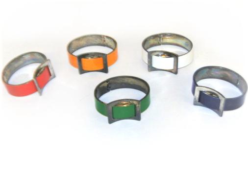 5 Buckle Bangle Bracelets