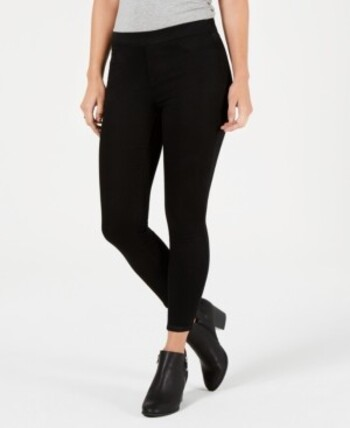 STYLE & CO - Women's Straight Leg Curvy Fit Jeans - Black - Size 16 - Retail $69.00