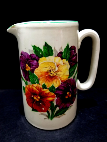Vintage Lord Nelson Bone China Water Pitcher
