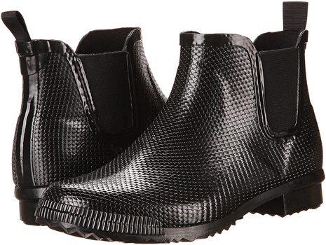 COUGAR - Women's Regent Black Snake Rubber Rain Boots - Size 8 - $69.00 Retail
