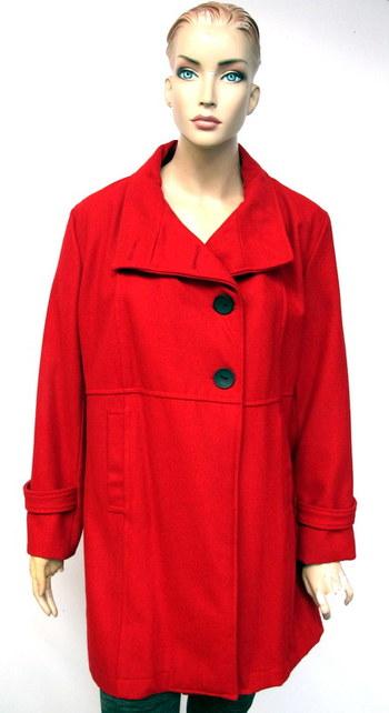 Women's Wool Coat - Size 3XL
