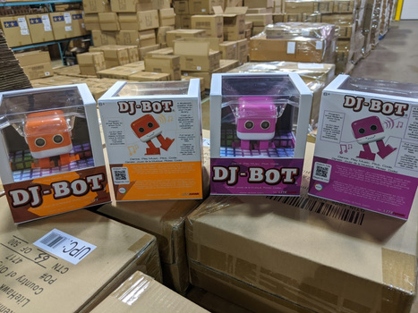 2 New Litehawk DJ-BOT Robot Bluetooth Speaker $100.00