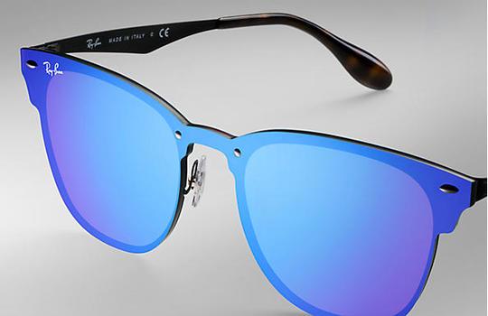 Ray Ban 3576 New Sunglasses Blue Mirror