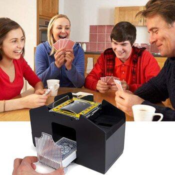 Automatic Four Deck Card Shuffler