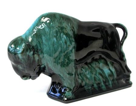 RARE Original Blue Mountain Pottery Buffalo/Bison