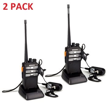 NEW 2 Pack Baofeng Pro Walkie Talkies
