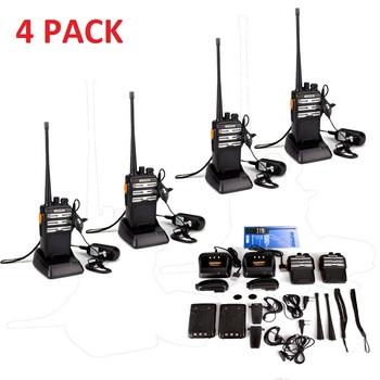NEW 4 Pack Baofeng Pro Walkie Talkies