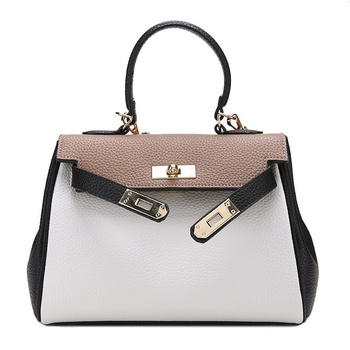 New Style of Europe and America, Litchi, Platinum, Large Bag