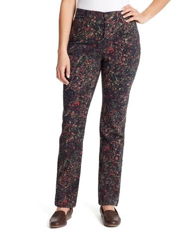 Gloria Vanderbilt Ladies Jeans Floral Print Size S