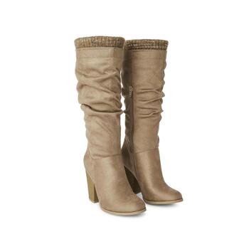 New With Tags George Women's Chance Boots Taup Size 7