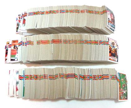 Lot of 100 Random NFL Football Cards Lot 50