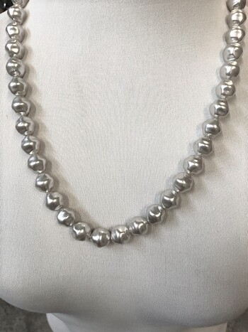 Roman Pearl Necklaces 12 Pieces Made in Czechoslovakia