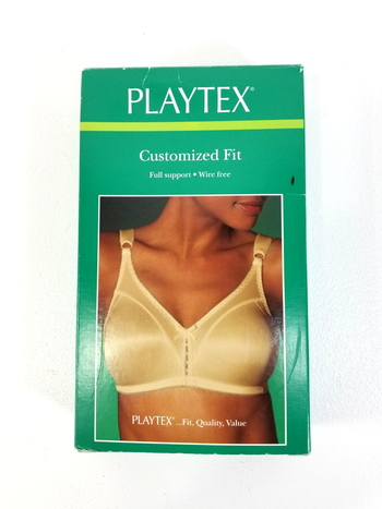 Playtex Customized Fit Full Support Wire Free Bra / Size 42B