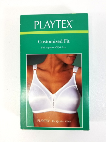 Playtex Customized Fit Full Support Wire Free Bra / Size 34D