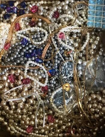 Over 8 Pounds Mystery Box Jewelry Swarovski & More