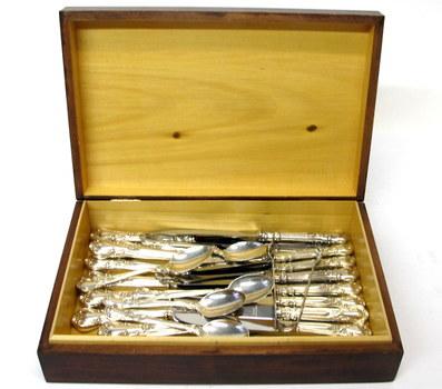 25 Piece Vintage Sterling Silver Flatware