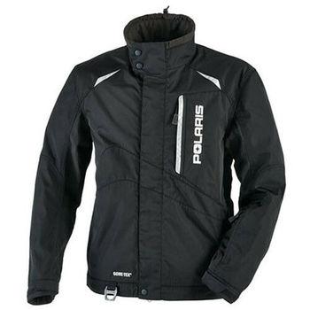 Polaris Gore-Tex Black Mens Snowmobile Jacket Size Medium 2865009