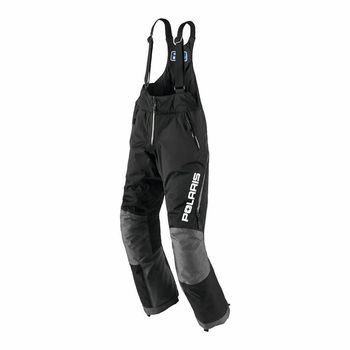 NWT Polaris Womens Black Snowmobile Throttle Bib Pants Waterproof - Size 3XL 28650291