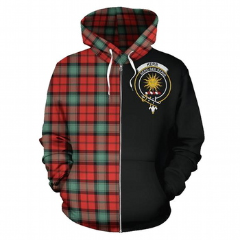Unisex Full Zip KERR Hoodie Jacket Size 3XL