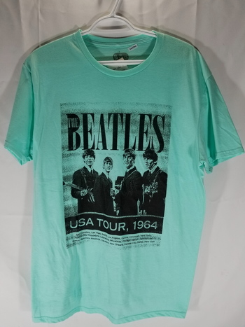 NWT The Beatles Graphic Unisex T Shirt M