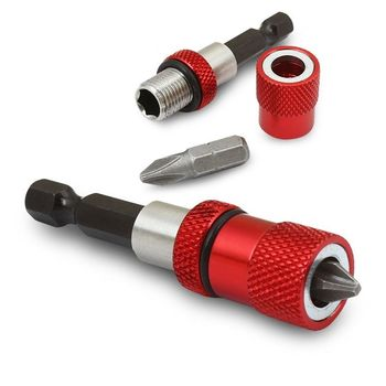 Magnetic Tip Quick Change Adjustable Depth Bit Driver Holder Screwdriver Tool