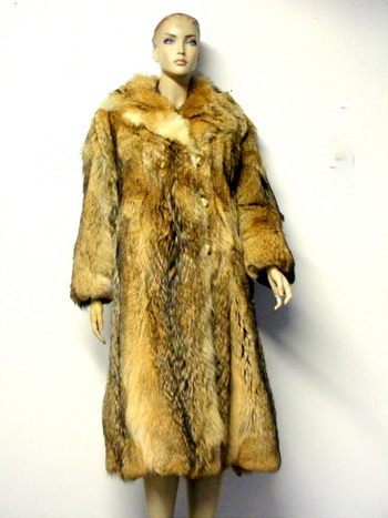Women's Coyote Coat  L