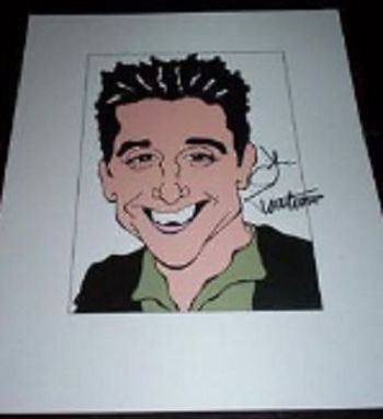 JOHN TURTURRO Transformers, Quiz Show, Mr Deeds Signed 8.5x11 Cartoon Autographed Signed $300 Retail