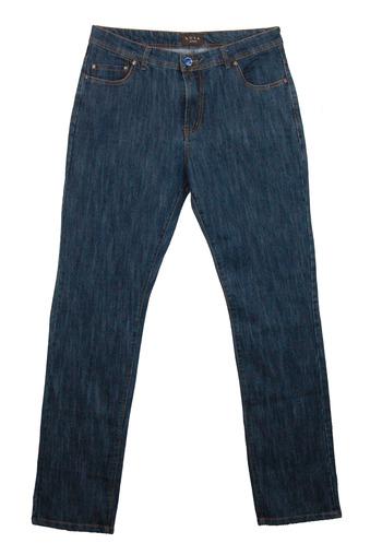 Men's Italian Designer LUCA Casual Denim Pants - Size 58-EU/42US - Retail $295.00