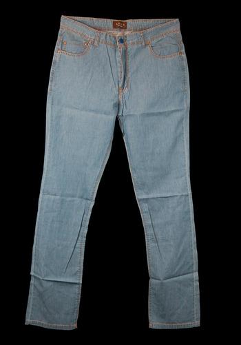 Men's Italian Designer LUCA Casual Denim Pants - Size 48-EU/32US - Retail $295.00
