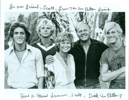 Dick Van Patten RIP 2015 Actor Eight is Enough Signed Autographed 8x10 Photo w/coa $300 Retail