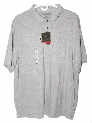 NWT Denver Hayes Mens Sz XL Button Up Short Sleeve Polo