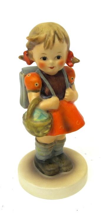 "Hummel by W. Goebel Figurine ""School Girl""- Circa 1980"