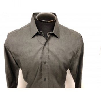 New Mens Duchamp London Tailored-Fit Cotton Shirt, L