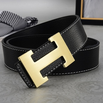 New Men's Leather Belt Italy